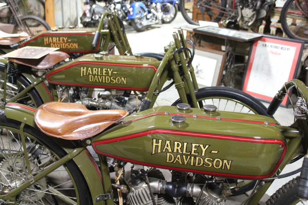 Three Harleys