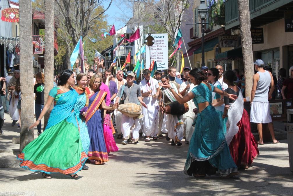 Hari Krishna parade