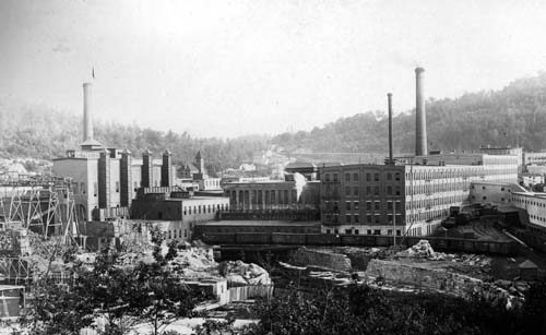 International Paper Co. mill, Rumford Falls PIC