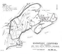 wabanaki map
